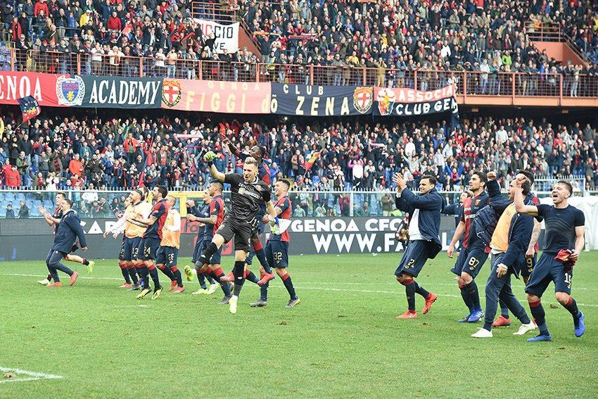Criscito rianima il Genoa: 1-1 col Cagliari, sardi matematicamente salvi