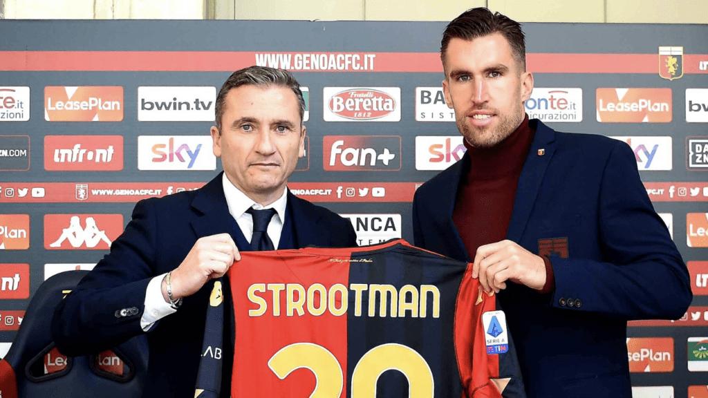 """Strootman si presenta: """"Far vincere il Genoa è la cosa più importante"""""""